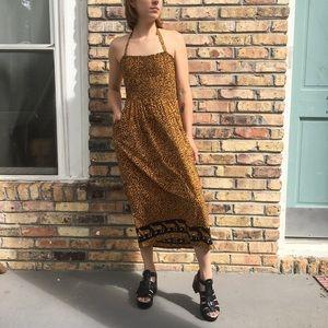 VTG halter dress